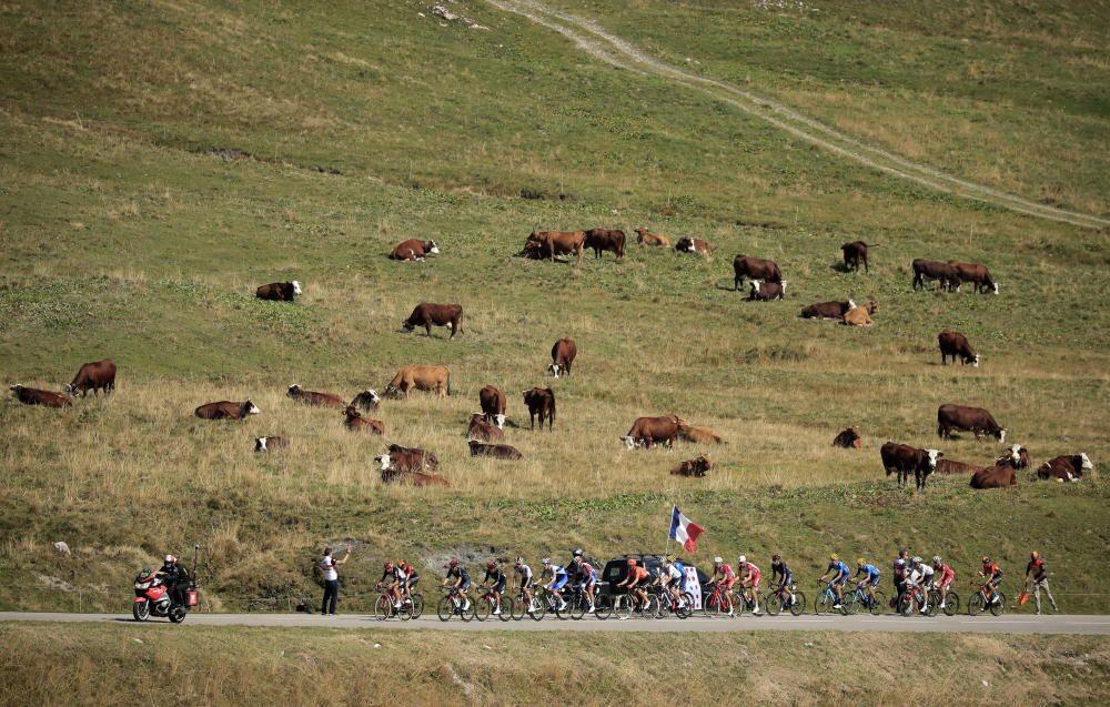 Decimoctava etapa del Tour de Francia (Méribel-La Roche sur Foron).