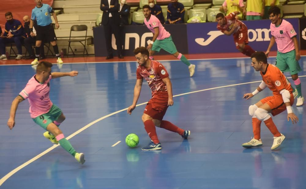 Partido entre ElPozo Murcia y el FC Barcelona