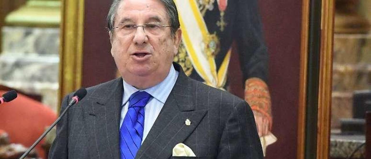 Francisco Vázquez, en 2016, en La Coruña.