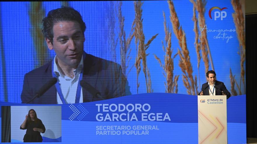 García Egea: «Ayudaré a Begoña a ser la alcaldesa  de Castelló»