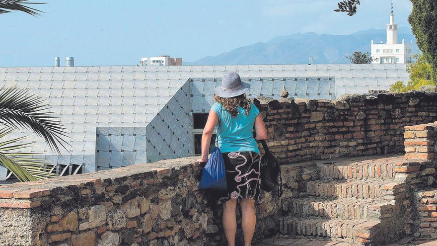 Las vistas chafadas desde la Alcazaba