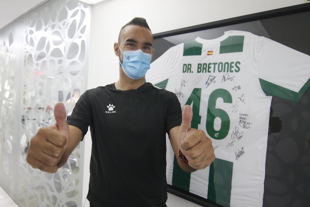 Los nuevos fichajes del Córdoba CF listos tras el reconocimiento