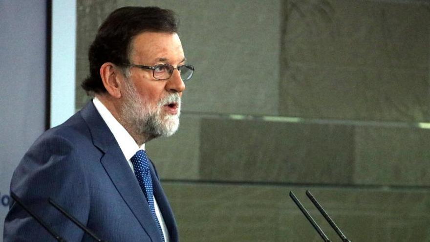Rajoy sobre la querella a Llarena: «Si la paga el Parlament podria ser una malversació»