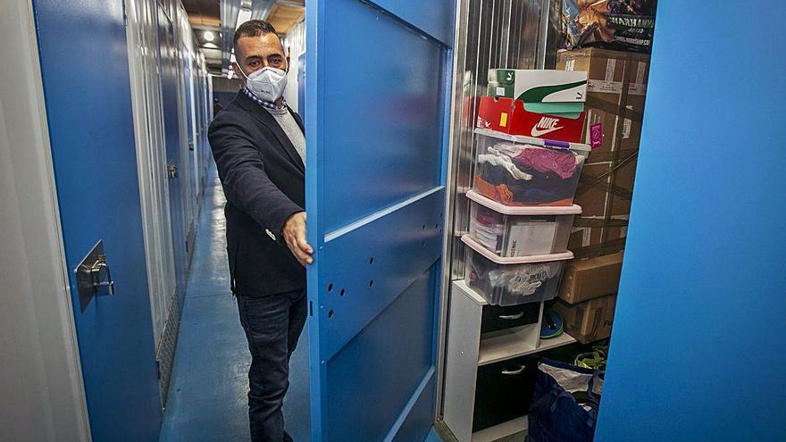 La destrucción de empresas por el covid duplica el alquiler de trasteros para guardar enseres