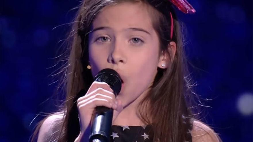 La valenciana Melani García representará a España en Eurovisión Junior