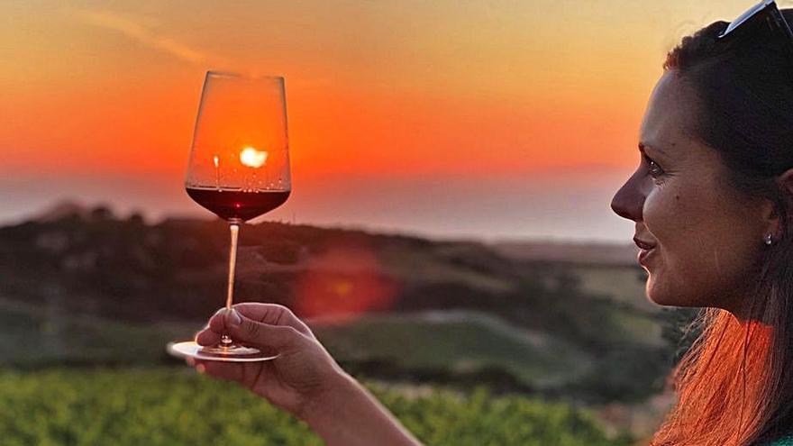 """Kristina Petraviciute: """"Los vinos canarios lo tienen todo,  tanto en blancos como en tintos"""""""