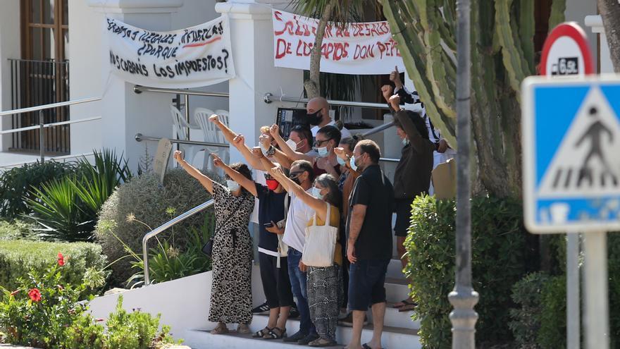 El futuro de los vecinos del Don Pepe, en manos de los jueces