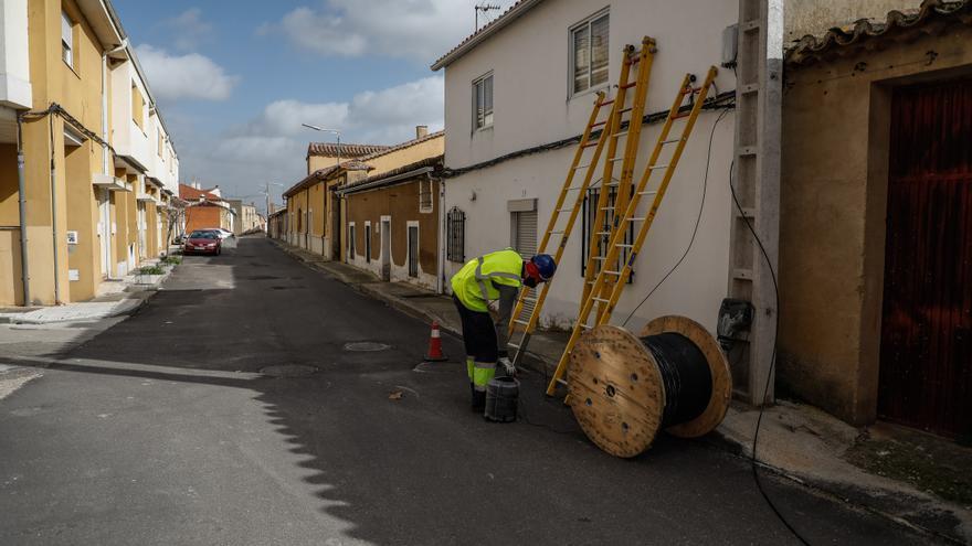 Lista de los pueblos de Zamora en los que implantará la fibra óptica