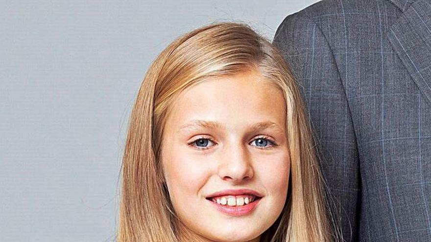 Leonor, la heredera blindada que mañana cumple 15 años