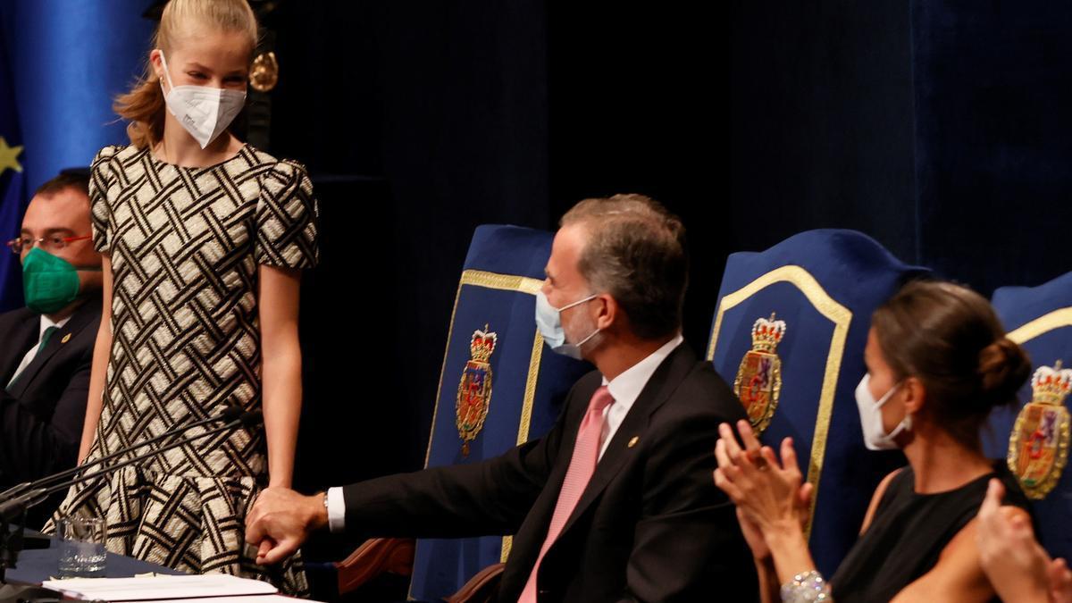 """Galería: así ha sido la ceremonia de entrega de los Premios """"Princesa de Asturias"""" en el Campoamor"""