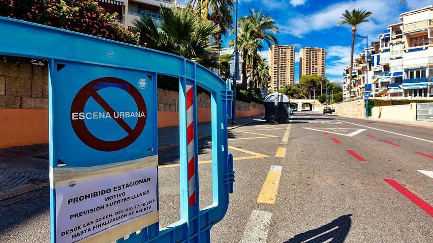 La CHJ retira una sanción por el barranco Murtal de Benidorm al ver que la calle tiene casi 40 años