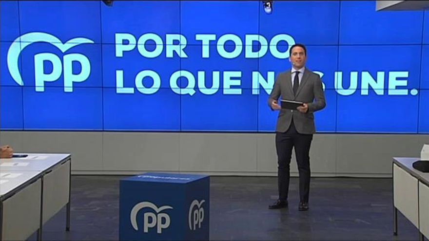'Por todo lo que nos une', lema del PP