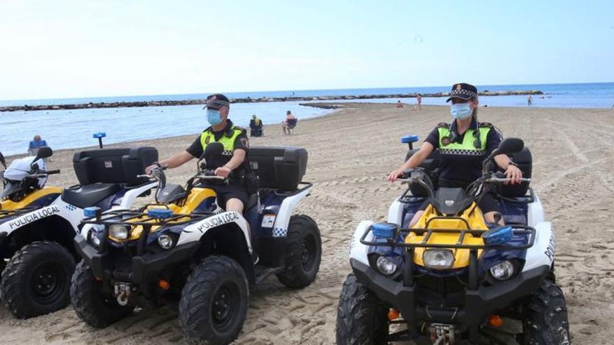 Dos drones de la Policía Local reforzarán este verano el dispositivo de seguridad en las playas de Alicante