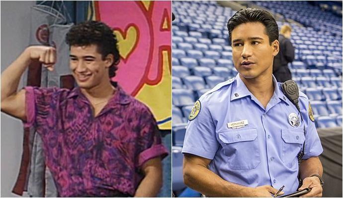 Mario Lopez – 'Salvados por la campana' (1989-1993).  NBC |  CBS