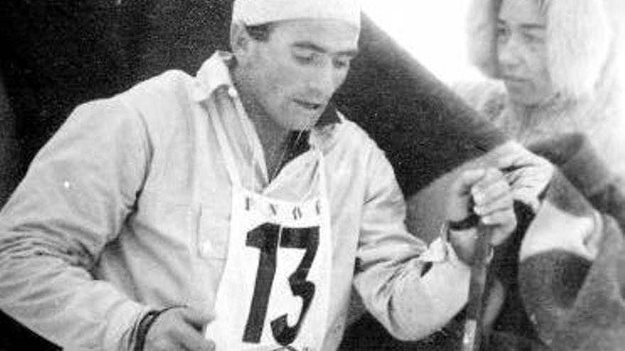 """Fallece a los 77 años el esquiador Jesús Pérez Álvarez, """"Chusco"""""""