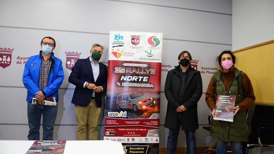 No habrá público en los tramos del Rally Norte de Extremadura