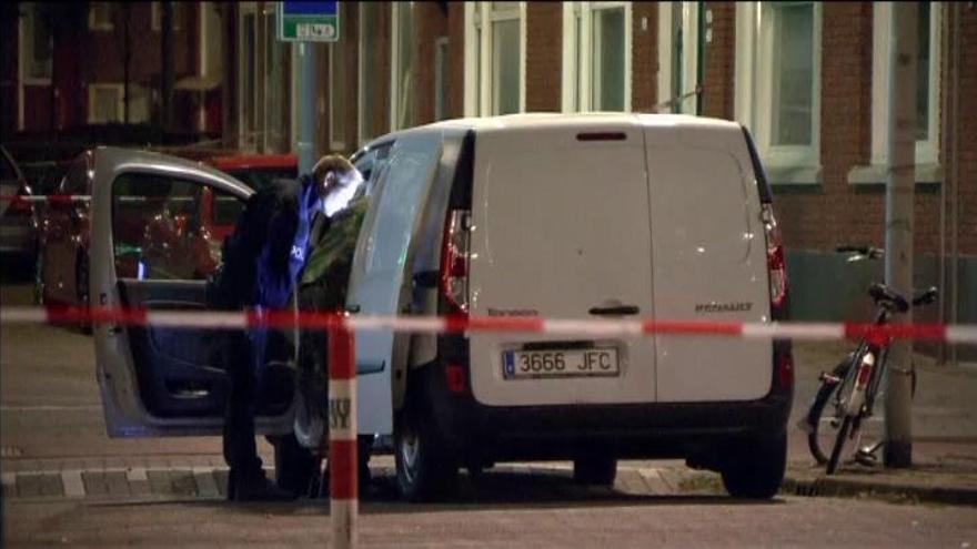 Arrestan en Rotterdam a un español ebrio con bombonas de gas en su furgoneta