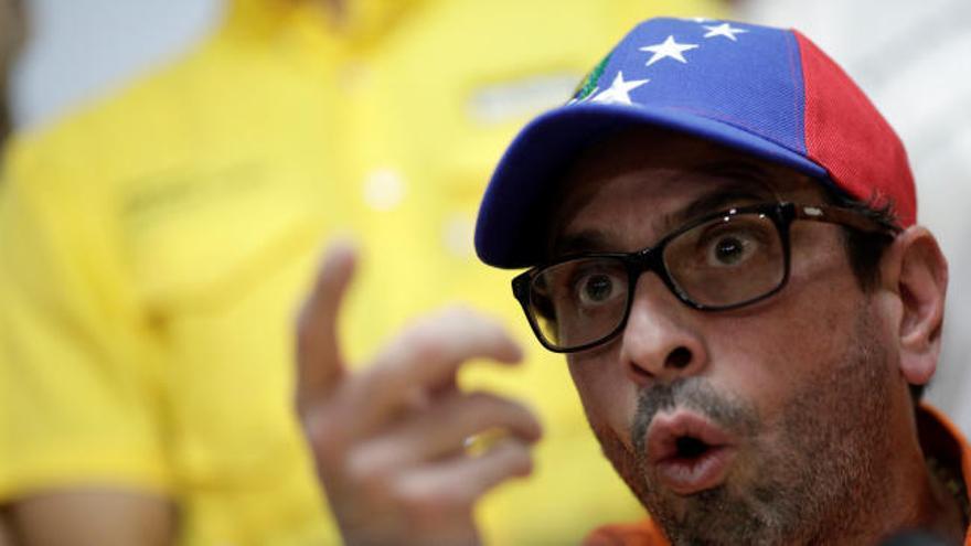 La oposición venezolana llama a tomar las calles