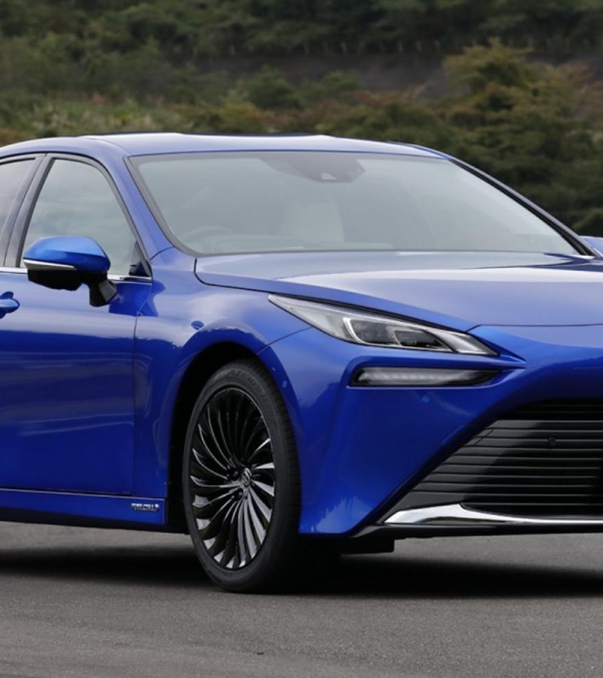 Toyota apuesta más por el hidrógeno con el nuevo Mirai