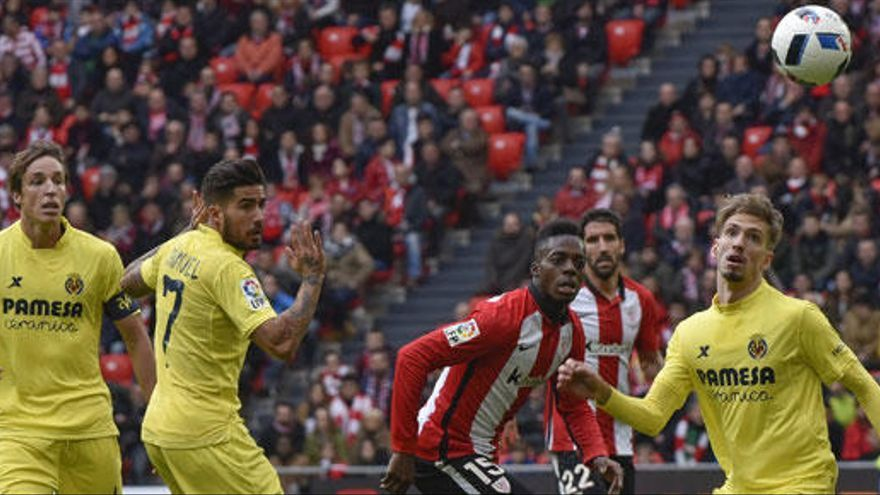 El Athletic remonta al Villarreal