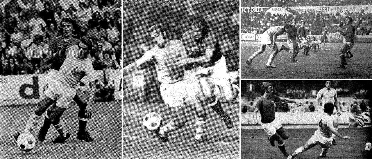 Fotografías del Celta-Chelsea del Ciudad de Vigo de 1973