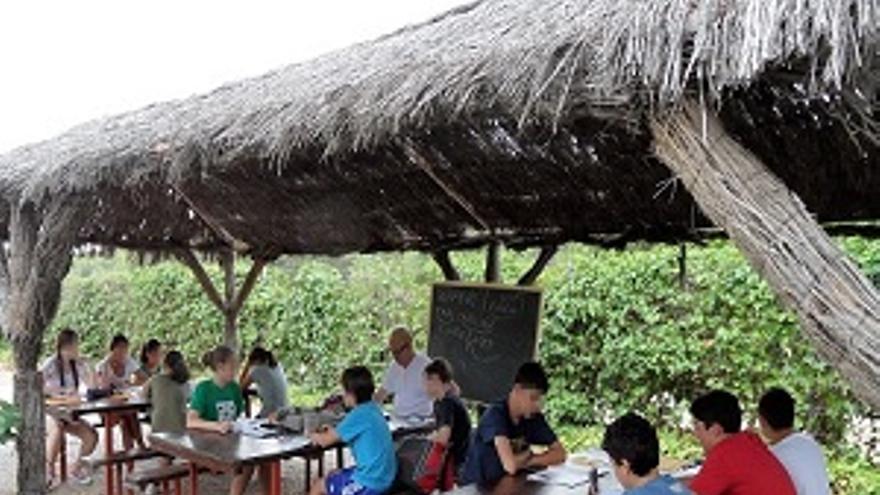 Escuela de verano bilingüe en San Patricio