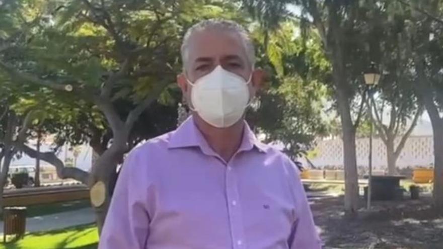 Pérez pide extremar  las medidas contra el covid en La Aldea
