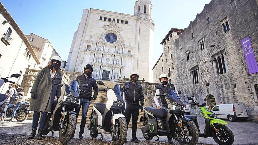 Les motos elèctriques de Silence aterren a Girona amb una botiga física