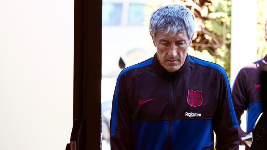 """Setién: """"Messi no es fácil de gestionar, pero quién soy yo para cambiarlo"""""""