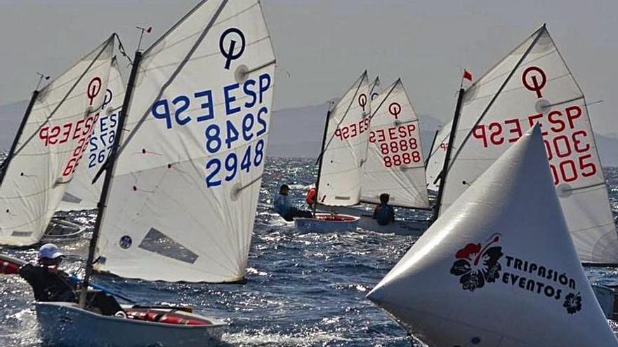 El Real Club Náutico de Gran Canaria sobresale en el regreso de la clase Optimist