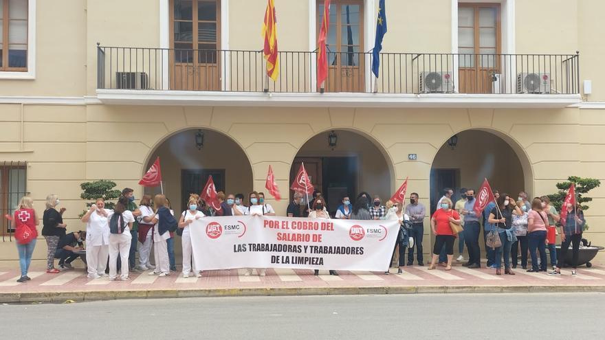 UGT denuncia impagos de la empresa Netalia Raspeig a sus trabajadores