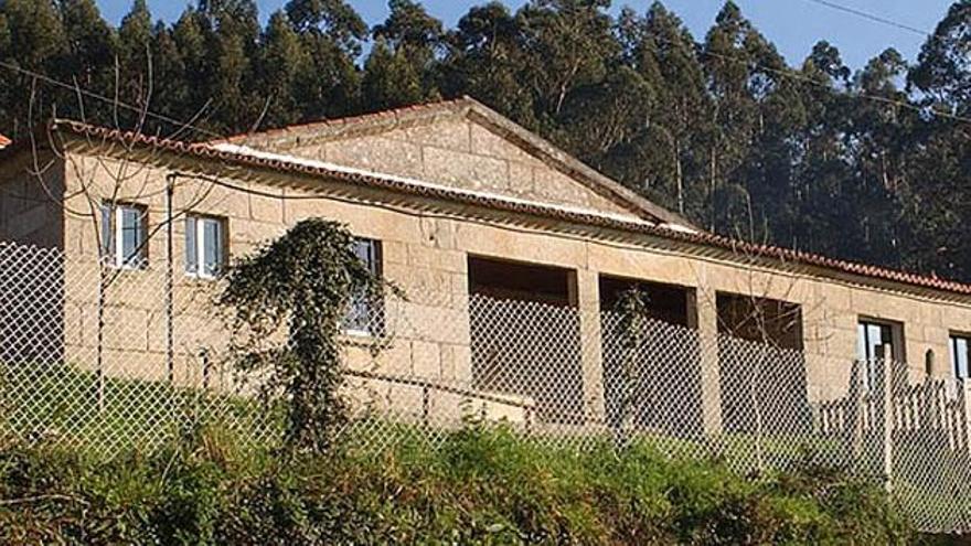 La Casa da Aldea de Meiro.