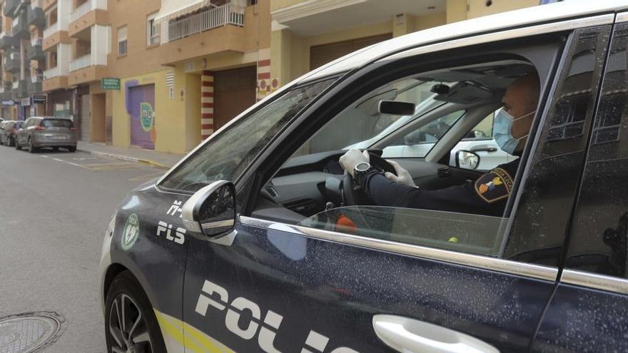 Siete agentes reforzarán la Policía Local de Sagunt para combatir la crisis sanitaria
