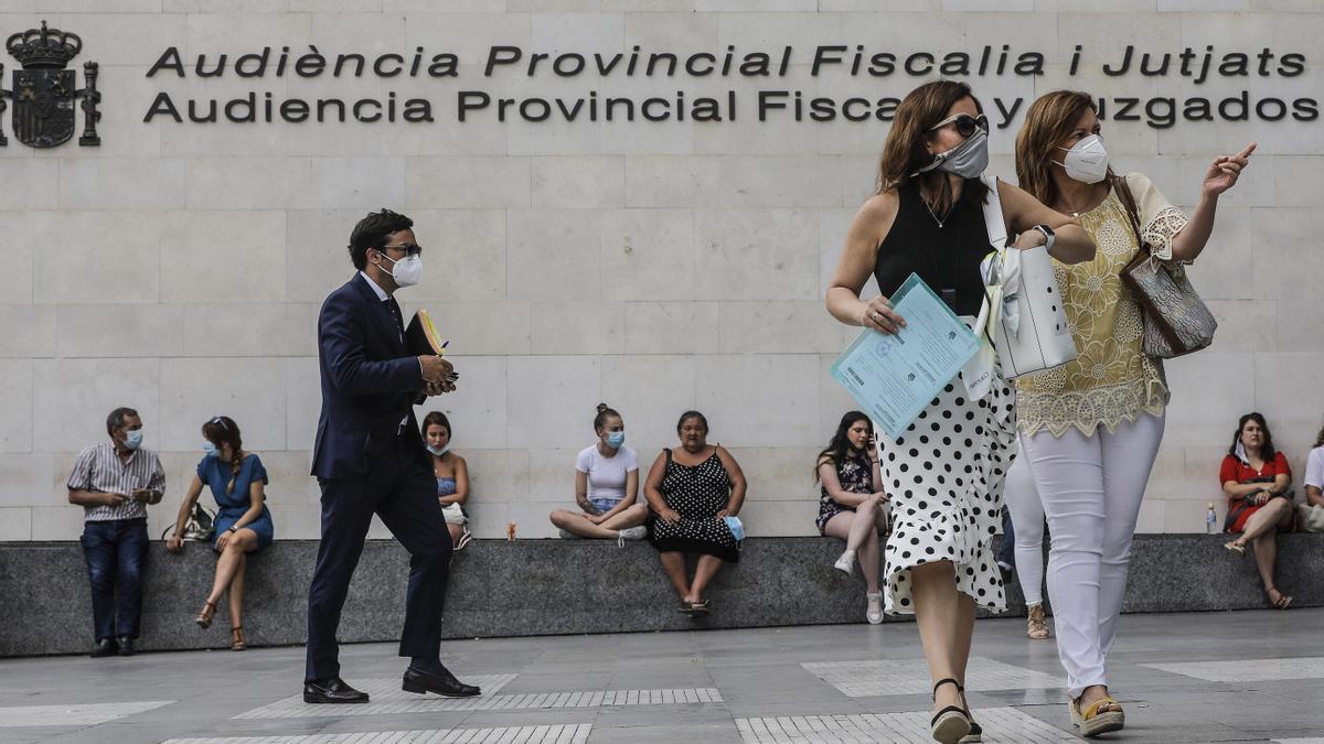Ciudad de la Justicia de Valencia.