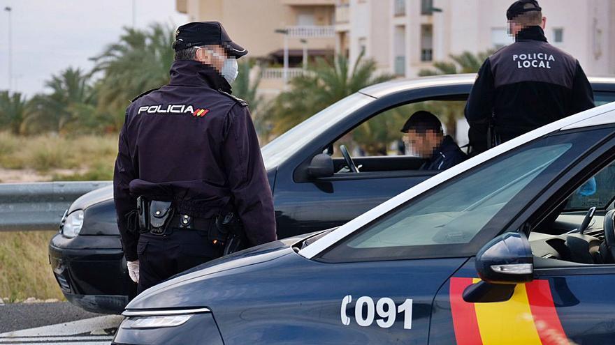 Los delitos bajan un 24% en Elche pero se incrementa un 21% el tráfico de drogas
