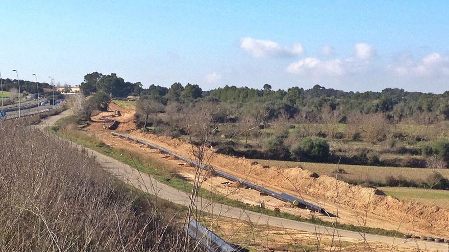 Imponen una sanción económica ejemplar por construir en suelo rústico en Mallorca