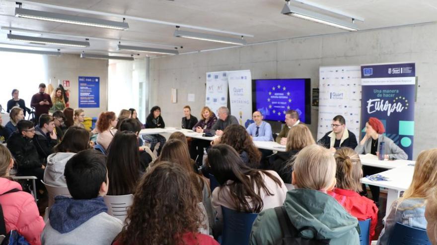 Quart participa en la difusión del proyecto europeo Yourope