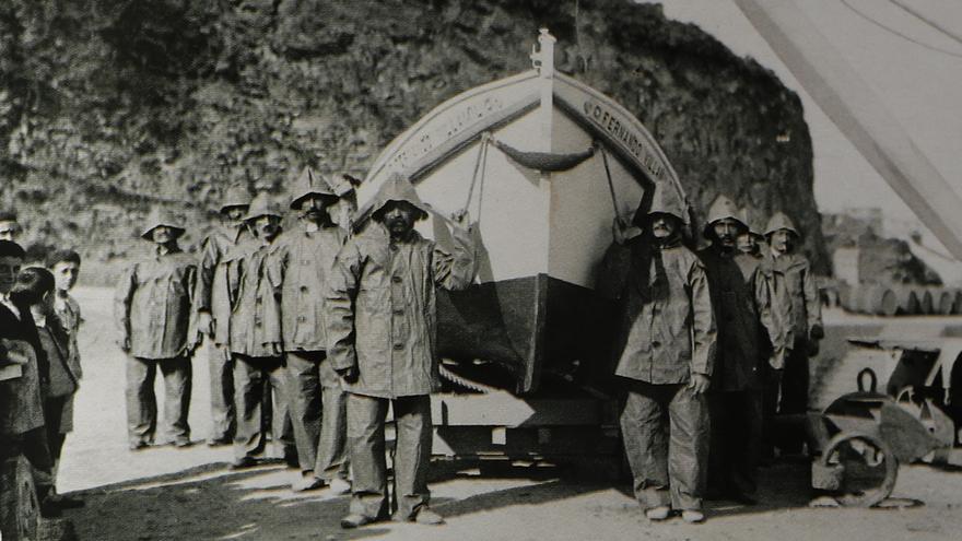 El vivo pasado de la Marina en Vigo