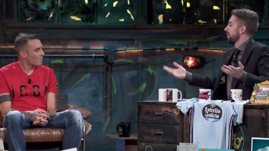 """El excesivo 'troleo' a Iago Aspas en """"La Resistencia"""""""