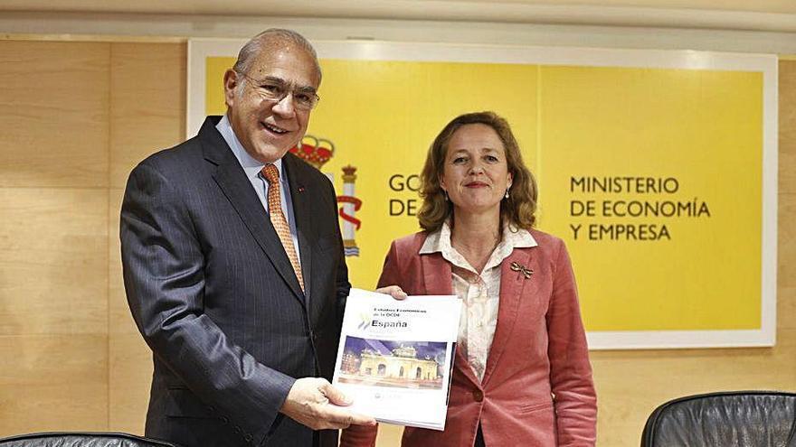 L'OCDE demana a Espanya que no apugi els impostos