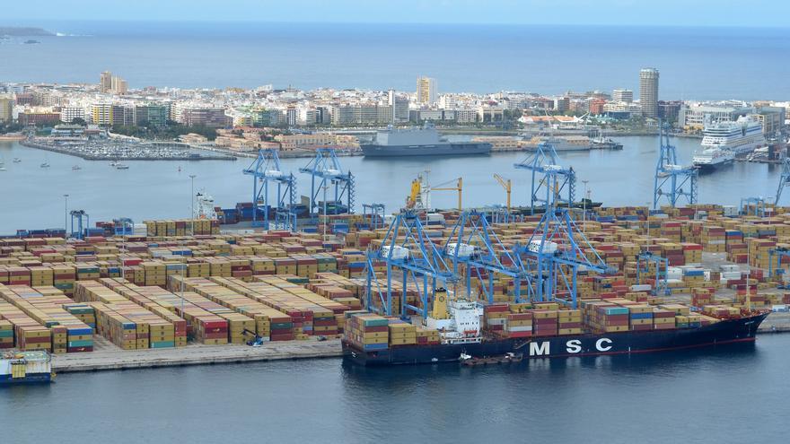 MSC seguirá en Las Palmas tras cerrar un acuerdo con la Autoridad Portuaria