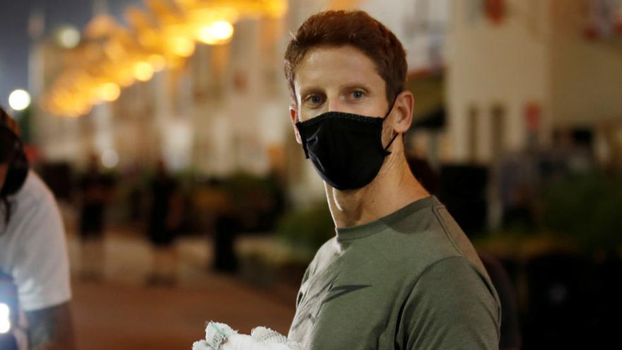 Grosjean no correrá en el GP de Abu Dabi por precaución