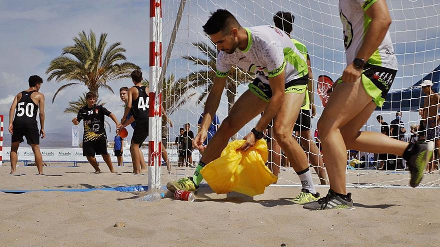 La arena se llena de deportes