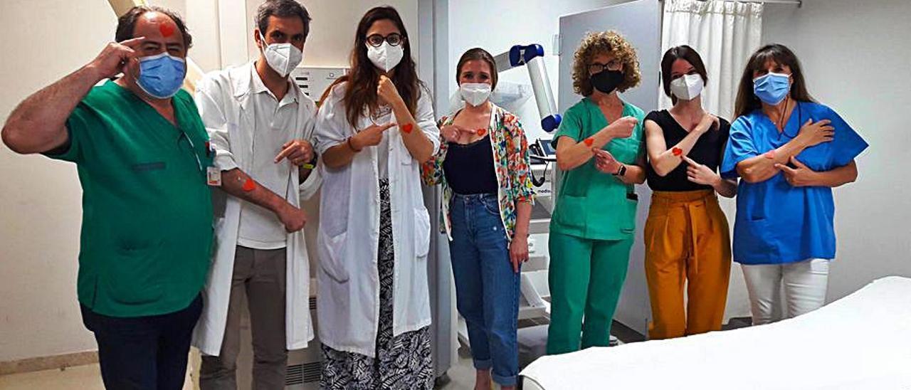 El hospital se ha unido a la campaña «Misión Amarte». | LEVANTE-EMV