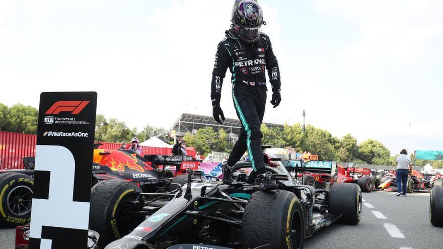 Hamilton, campió del Gran Premi d'Espanya