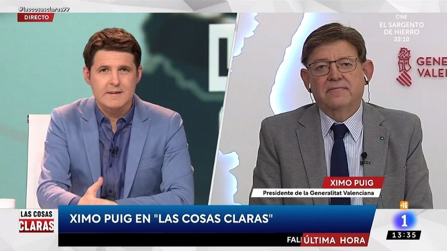 """Puig, sobre la polémica con Ayuso: """"Las comparaciones son odiosas"""""""