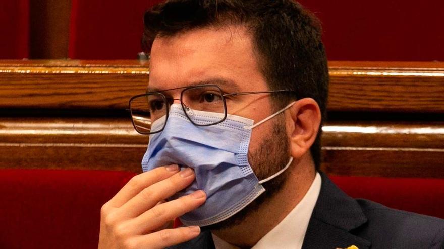 Aragonès tiende puentes con Junts y rechaza un referéndum esta legislatura