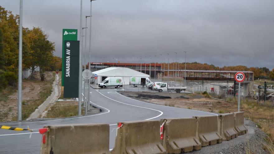 La estación del AVE en Otero (Zamora) ya tiene el permiso eléctrico de Industria