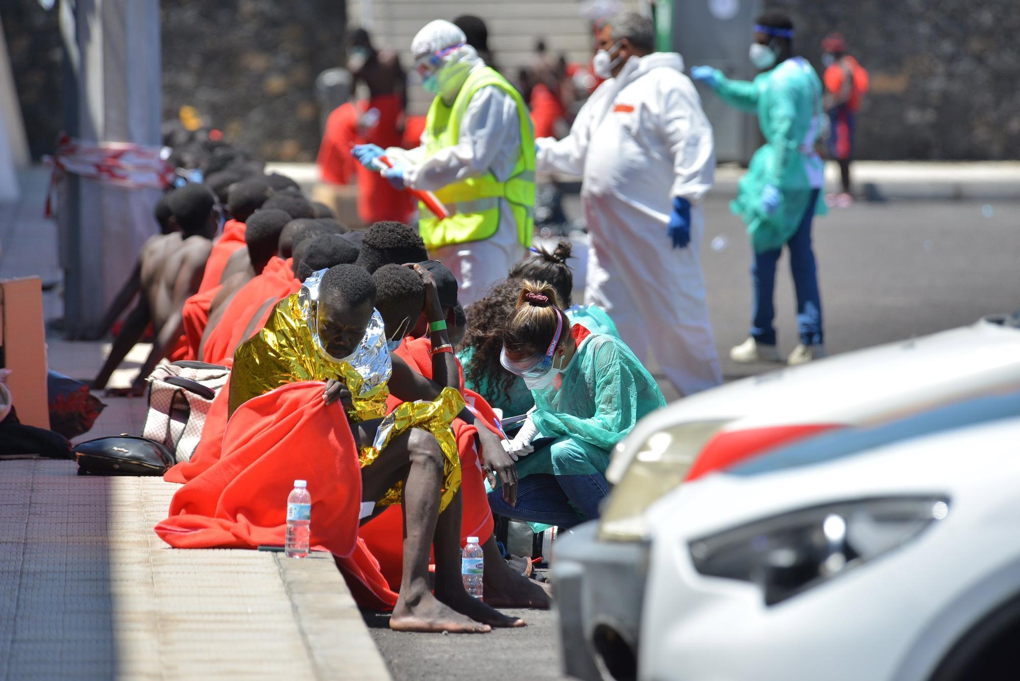 Un cayuco llega a El Hierro con 117 migrantes