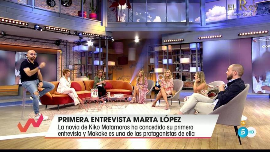El zasca de Jose Antonio Avilés a Toñi Moreno en su penúltimo programa en Viva la Vida